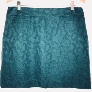 Ann Taylor Loft Green Skirt
